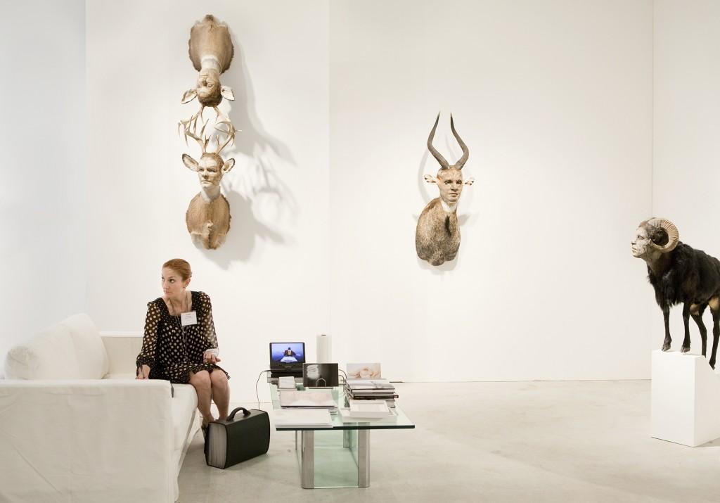 Claire Oliver, Art Miami 2009