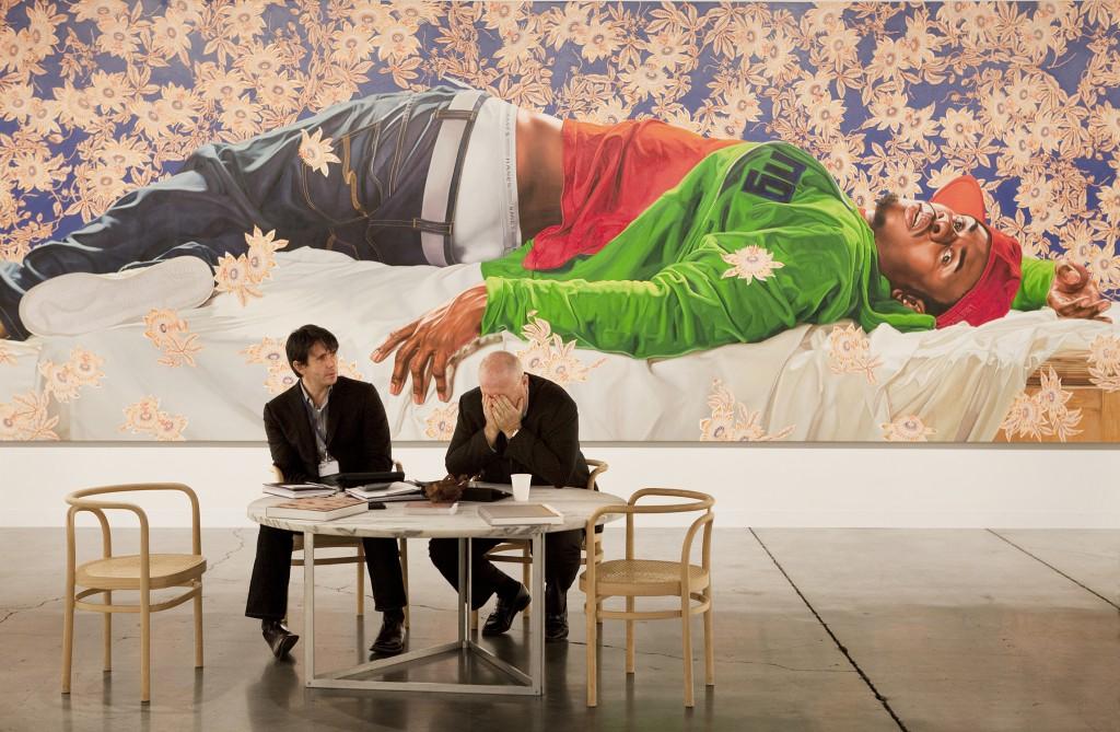 Sean Kelly, Art Basel Miami 2010 Artist: Kehinde Wiley